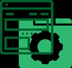 browser icon, website design & development