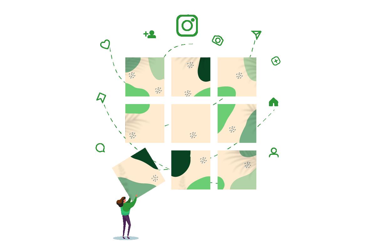 Instagram Grid Layout Blog